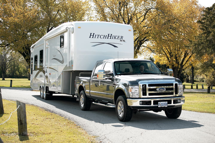 best trucks to tow a 5th wheel rv blue skys rv park. Black Bedroom Furniture Sets. Home Design Ideas